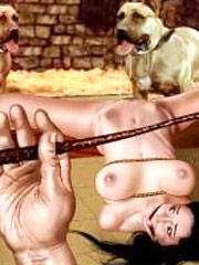 Masters have no mercy to their slave girls!