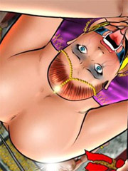 Face sitting and cruel torments for male slaves