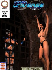 Naked slave cuties became the victims of perverted sex maniacs while in inescapable bondage.