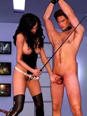 Poor chained slave girls gets their both holes pounded by cruel mad dr. horace bone.