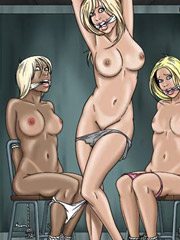 No one gonna help white slave in the harem!