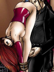 The harder bdsm comics and illustrated stories. slavegirls naked and chained owned and used by the masters!